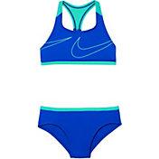 Nike Girls' Macro Swoosh Racerback Sport Top Brief Set