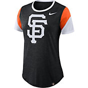 Nike Women's San Francisco Giants Tri-Blend T-Shirt