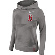 Nike Women's Boston Red Sox Dri-FIT Therma Pullover Hoodie