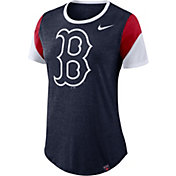 Nike Women's Boston Red Sox Tri-Blend T-Shirt