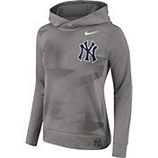 Nike Women's New York Yankees Dri-FIT Therma Pullover Hoodie