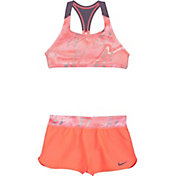 Nike Girl's Amp Axis Racerback Sport Top Short Set