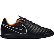 Nike Kids' Tiempo Legend 7 Club Indoor Soccer Shoes