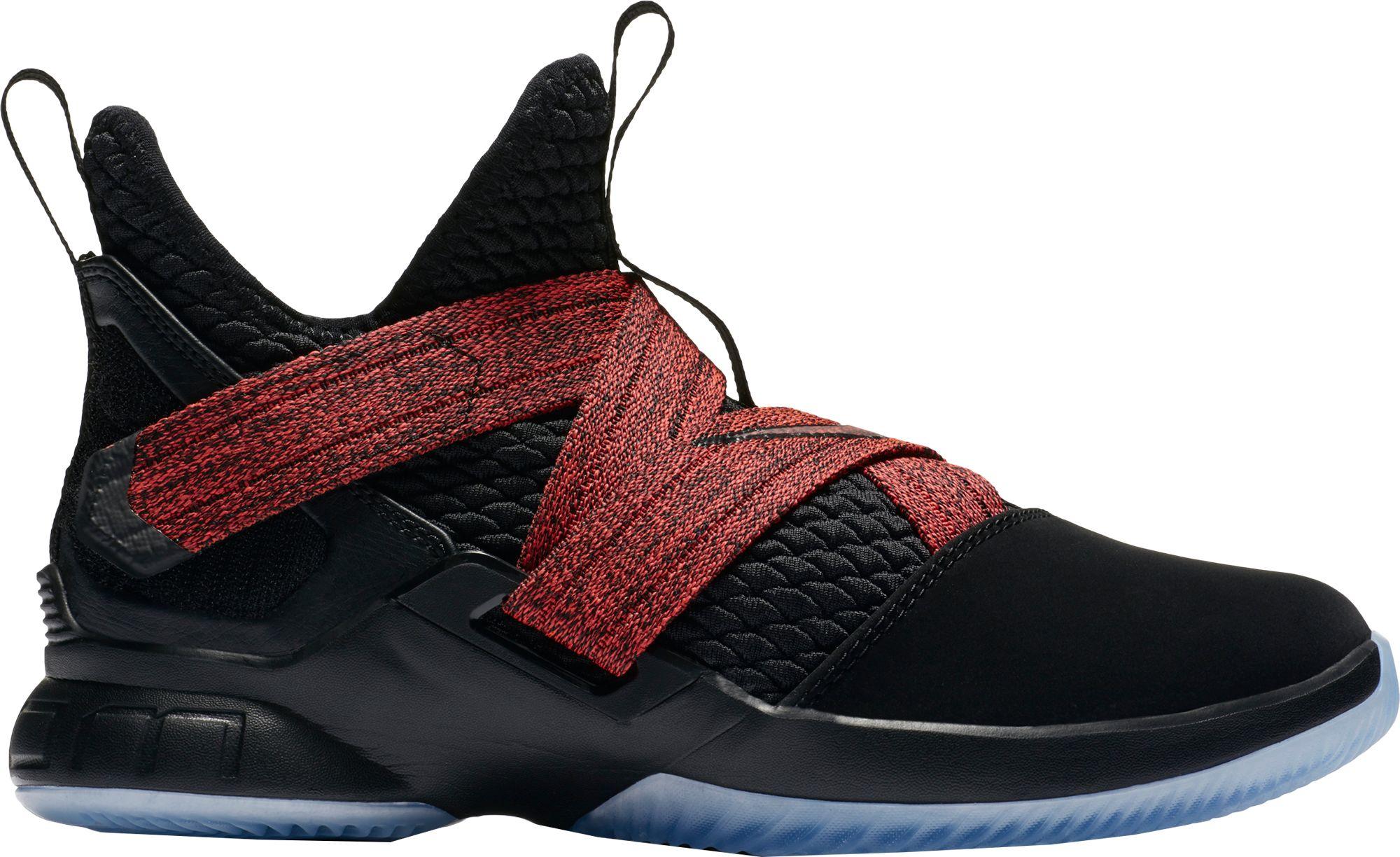 d964e054f27 ... Nike Kids Grade School LeBron Soldier XII Basketball Shoes  Nike Boys  Lebron Soldier VIII Black ...