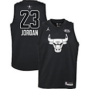 Jordan Youth 2018 NBA All-Star Game Michael Jordan Black Dri-FIT Swingman Jersey