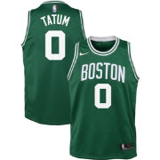 Nike Youth Boston Celtics Jayson Tatum #0 Kelly Green Dri-FIT Swingman Jersey