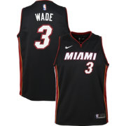 Nike Youth Miami Heat Dwyane Wade #3 Black Dri-FIT Swingman Jersey