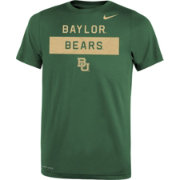 Nike Youth Baylor Bears Grey Dri-FIT Legend Lift Football T-Shirt