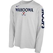 Nike Youth Virginia Cavaliers 'Wahoowa' Bench Legend Long Sleeve White T-Shirt