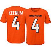 Nike Youth Denver Broncos Case Keenum #4 Pride Orange T-Shirt