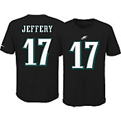 Nike Youth Philadelphia Eagles Alshon Jeffery #17 Pride Black T-Shirt