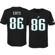 Nike Youth Philadelphia Eagles Zach Ertz #86 Pride Black T-Shirt