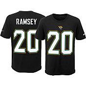 Nike Youth Jacksonville Jaguars Jalen Ramsey #20 Pride Black T-Shirt