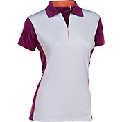 Nancy Lopez Women's Bee Short Sleeve Golf Polo