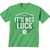 New World Graphics Men's Alabama Crimson Tide Green St. Paddy's Day T-Shirt