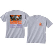 New World Graphics Men's Clemson Tigers Grey 2018 Football Schedule T-Shirt