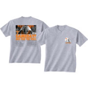 New World Graphics Men's Tennessee Volunteers Grey 2018 Football Schedule T-Shirt