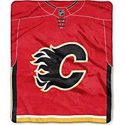 Northwest Calgary Flames Jersey Raschel Throw