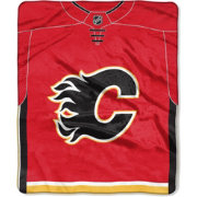 Northwest Calgary Flames Jersey Raschel Throw