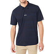 Oakley Men's Aero Stripe Jacquard Golf Polo