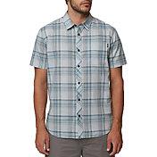 O'Neill Men's Sturghill Woven Short Sleeve Shirt