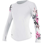 O'Neill Women's Print Long Sleeve Rash Guard
