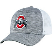 Top of the World Men's Ohio State Buckeyes Gray Warmup Adjustable Hat