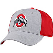 Top of the World Men's Ohio State Buckeyes Gray/Scarlet Faboo 1Fit Hat
