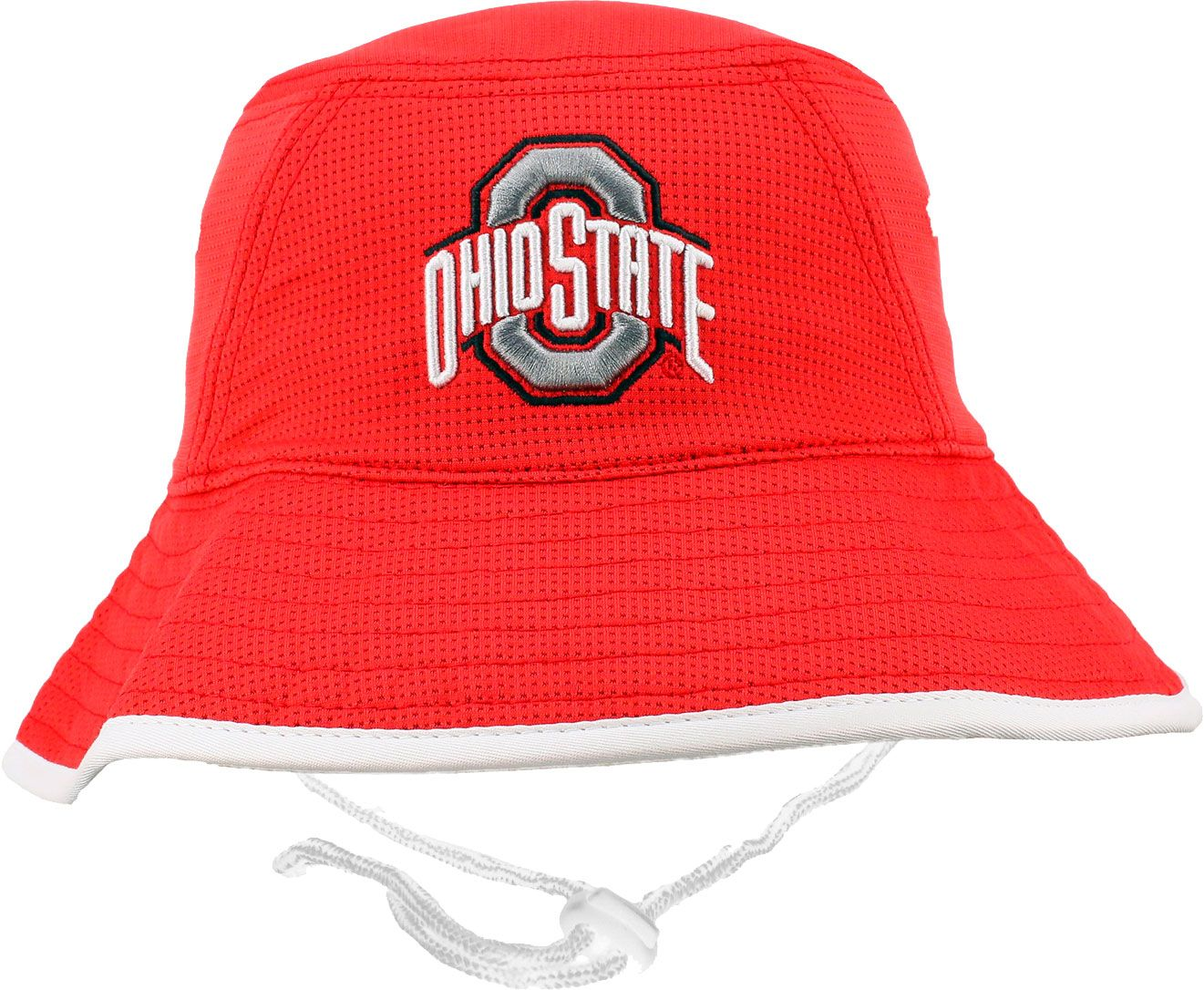 Osu Men's Ohio State Buckeyes Scarlet Bucket Hat by Osu