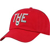 Top of the World Men's Ohio State Buckeyes Scarlet District Adjustable Hat