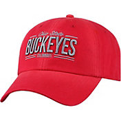 Top of the World Men's Ohio State Buckeyes Scarlet Lockers Adjustable Hat