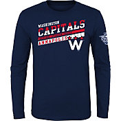 NHL Youth 2018 Stadium Series Washington Capitals On Board Long Sleeve Shirt