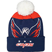 NHL Youth 2018 Stadium Series Washington Capitals Pom Knit Beanie