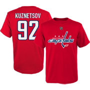 NHL Youth Washington Capitals Evgeny Kuznetsov #92 Red T-Shirt