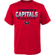 NHL Youth Washington Capitals Ice Bound Red T-Shirt