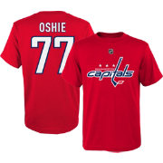 NHL Youth Washington Capitals T.J. Oshie #77 Red T-Shirt
