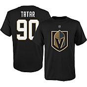 NHL Youth Vegas Golden Knights Tomas Tatar #90 Black Tee