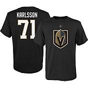 NHL Youth Vegas Golden Knights William Karlsson #71 Black Tee