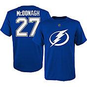 NHL Youth Tampa Bay Lightning Ryan McDonagh #27 Royal T-Shirt