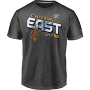 NBA Men's 2018 Eastern Conference Champions Cleveland Cavaliers Grey Locker Room T-Shirt