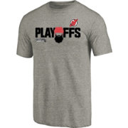 NHL Men's 2018 NHL Stanley Cup Playoffs New Jersey Devils Grey T-Shirt