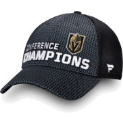 NHL Men's 2018 NHL Western Conference Champions Vegas Golden Knights Locker Room Mesh Snapback Adjustable Hat