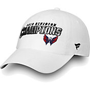 NHL Men's 2018 NHL Division Champions Washington Capitals White Adjustable Hat