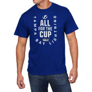 NHL Men's 2018 NHL Stanley Cup Playoffs Tampa Bay Lightning Blue T-Shirt
