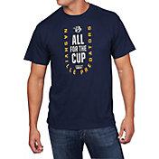 NHL Men's 2018 NHL Stanley Cup Playoffs Nashville Predators Navy T-Shirt