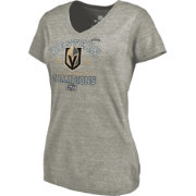 NHL Women's 2018 NHL Western Conference Champions Vegas Golden Knights Big Time Play V-Neck T-Shirt