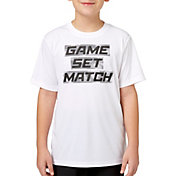 Prince Boys' 'Game Set Match' Graphic Tee