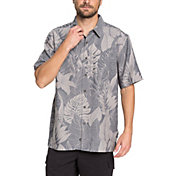 Quiksilver Men's Waterman Jungle Thinking Short Sleeve Shirt