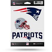 Rico New England Patriots Triple Spirit Stickers