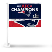 Rico AFC Conference Champions New England Patriots Car Flag